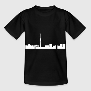 Berliner Skyline T-Shirts - Kinder T-Shirt