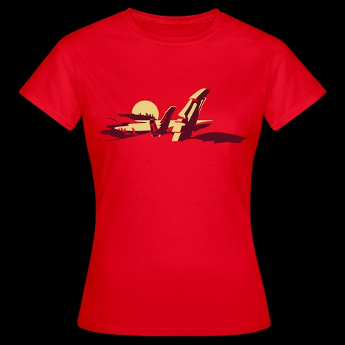 Tiki Shirt - Frauen T-Shirt