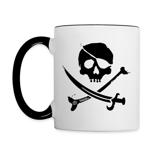 Pirate Crew - Multi-color Coffee Mug - Mok tweekleurig