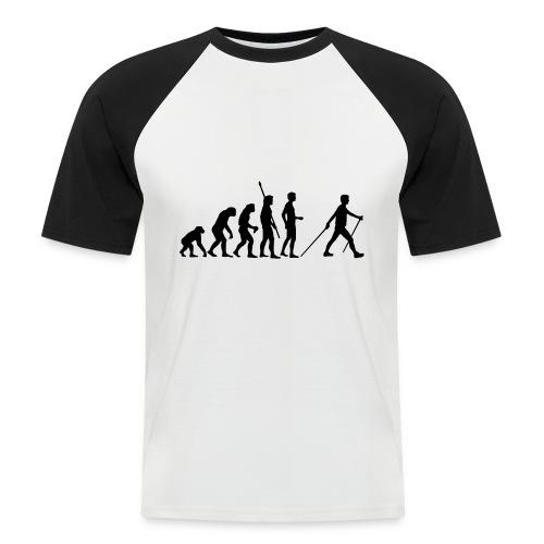 camiseta beisból evolución - Camiseta béisbol manga corta hombre