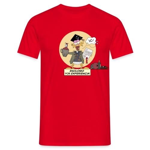 Enólogo por Experiência - Men's T-Shirt