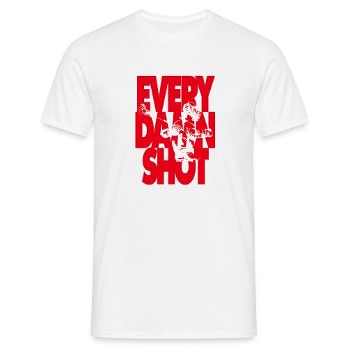 EVERY DAMN SHOT LAX - Männer T-Shirt
