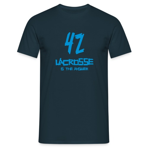 LAX 42 - Männer T-Shirt