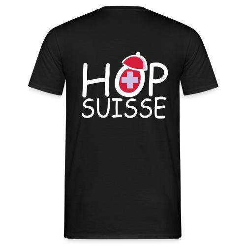 T-shirt Homme - Coupe du monde 2014 avec l'équipe suisse