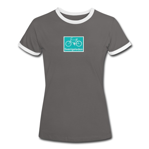 SWERIGE Suède - T-shirt contrasté Femme