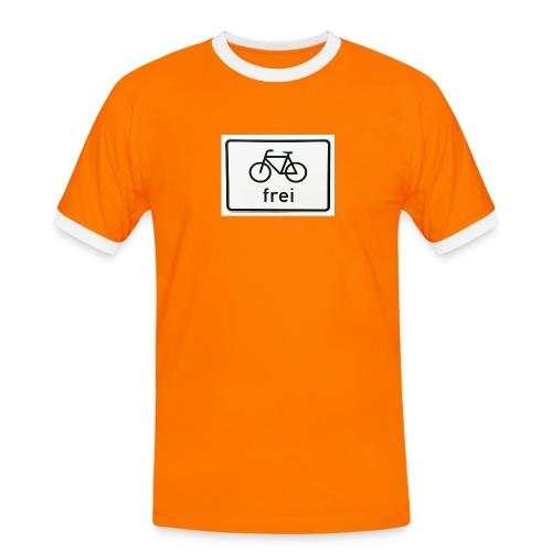 FREI Bicolore hommes - T-shirt contrasté Homme