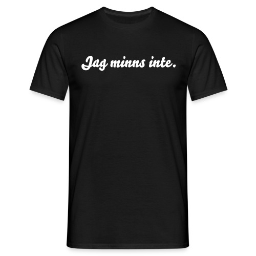 Minnet - T-shirt herr