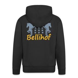 Bellihof Jacke schwarz - Männer Premium Kapuzenjacke