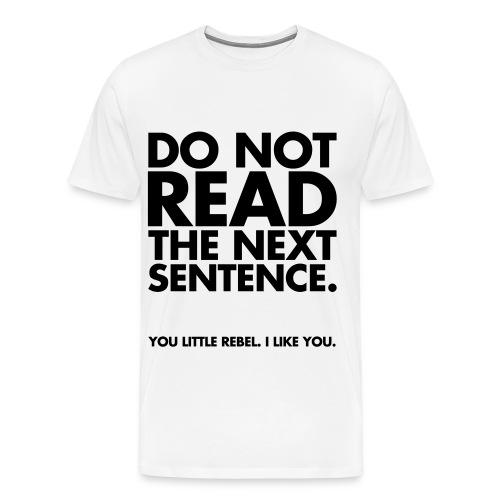 Rebel t-shirt - Men's Premium T-Shirt
