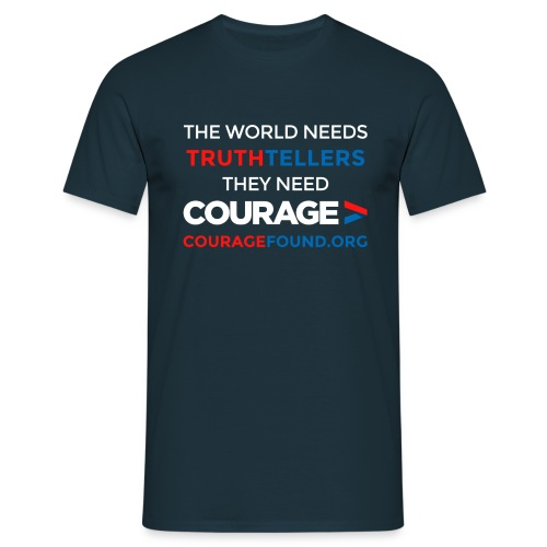 The World Needs Truthtellers Men's T-Shirt - Men's T-Shirt