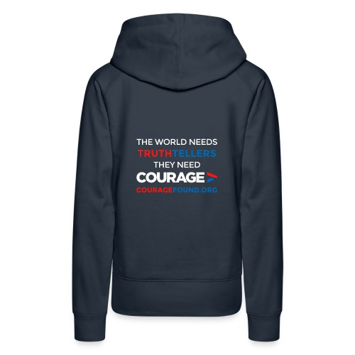 The World Needs Truthtellers  Women's Hoodie - Women's Premium Hoodie