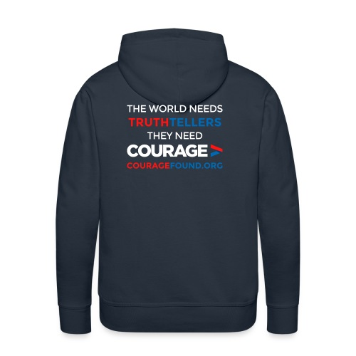 The World Needs Truthtellers Men's Hoodie - Men's Premium Hoodie