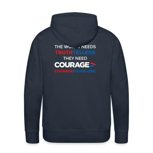 The World Needs Truthtellers Men's Hoodie - Men's Premium Hoodie