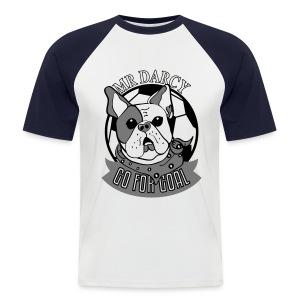 MR DARCY RULES Baseball Shirt Herren  - Männer Baseball-T-Shirt