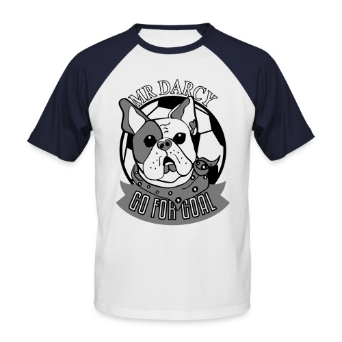 MR DARCY RULES Baseball Shirt Herren  - Männer Baseball-T-Shirt