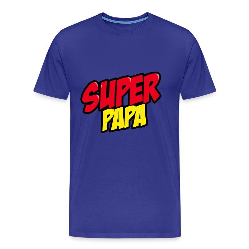 tee shirt super papa spreadshirt. Black Bedroom Furniture Sets. Home Design Ideas