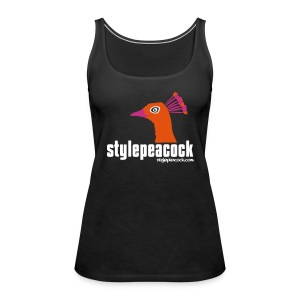 stylepeacock Top Flockdruck - Frauen Premium Tank Top