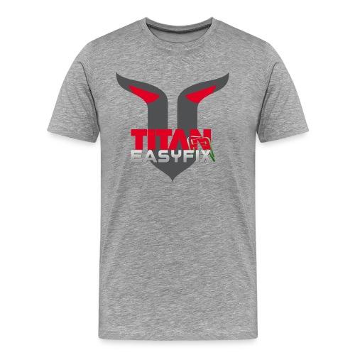 TITAN EASYFIX SHIRT - Maglietta Premium da uomo