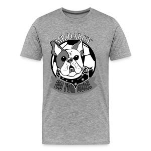 MR DARCY GO FOR GOAL Premium Herren  - Männer Premium T-Shirt