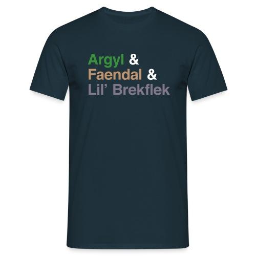 Argyl & Friends (Men's) - Men's T-Shirt