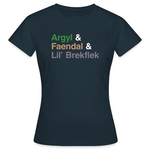 Argyl & Friends (Women's) - Women's T-Shirt