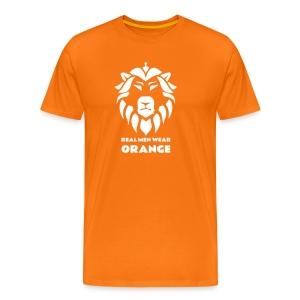 Real men - Mannen Premium T-shirt