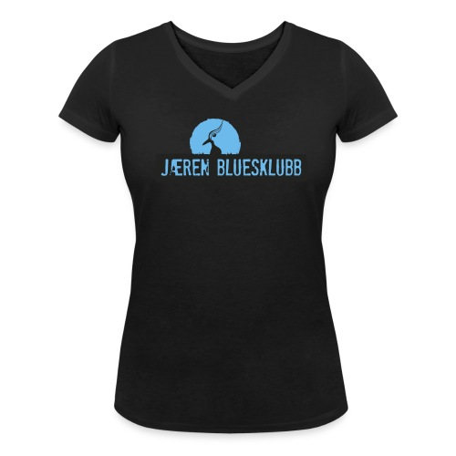 T-Shirt Dame - Økologisk T-skjorte med V-hals for kvinner fra Stanley & Stella