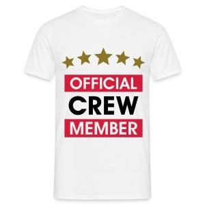 OFFICAL CREW  - Männer T-Shirt