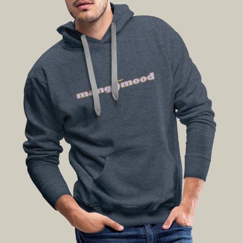 Männer Premium Kapuzenpullover mit Logo - Männer Premium Hoodie
