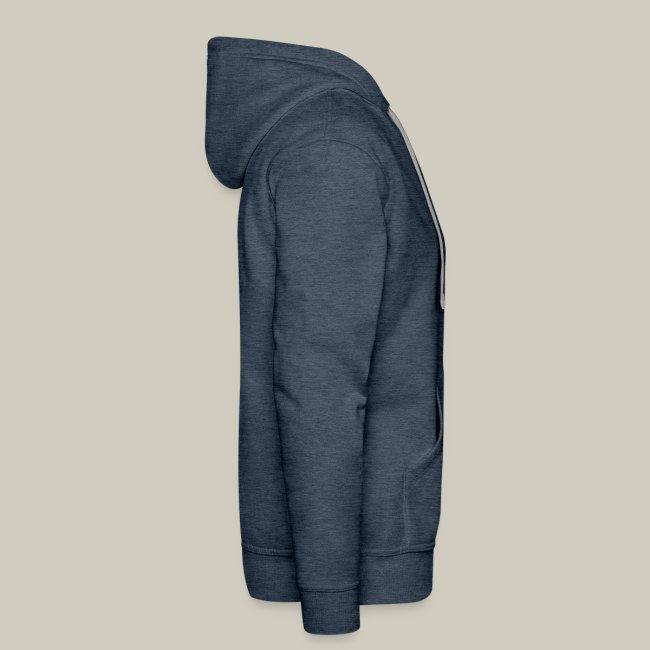 Männer Premium Kapuzenpullover mit Logo