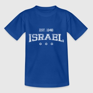 ISRAEL-white Shirts - Teenage T-shirt