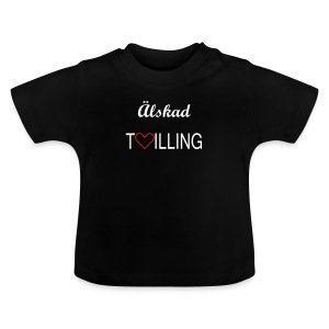 Baby t-shirt m valfri text - Baby-T-shirt