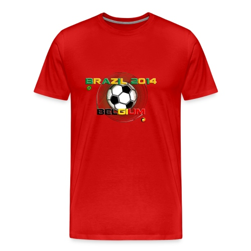 BELGIUM-BRAZIL - T-shirt Premium Homme