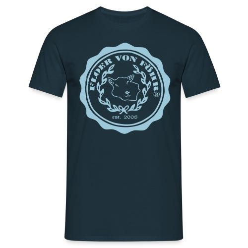 Floer von Föhr (R) T-Shirt Herren - Männer T-Shirt