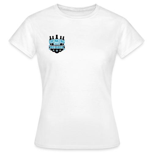 Drinking Crew - Dame-T-shirt