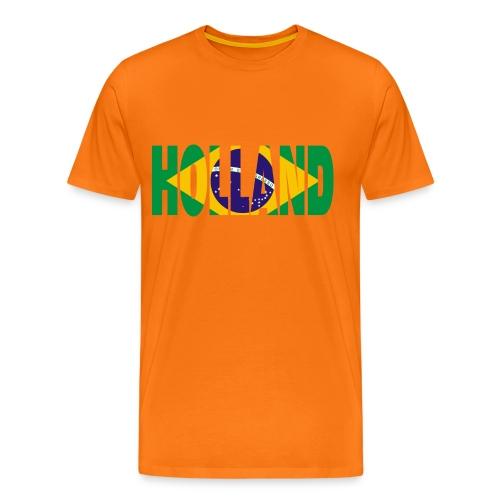 HOLLAND - Brasil - Mannen Premium T-shirt