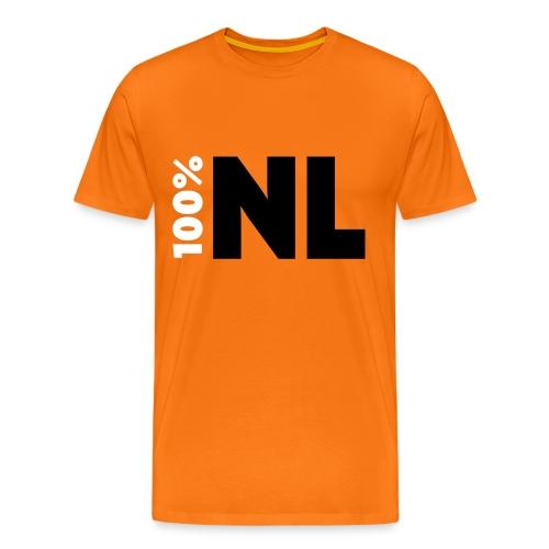 100% NL - Mannen Premium T-shirt