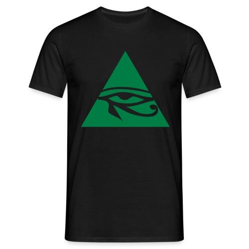 Herren T-Shirt / Plexxuminat Grün - Männer T-Shirt
