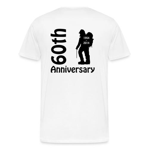 Men's Premium T 60th Mountaineer LF - Men's Premium T-Shirt