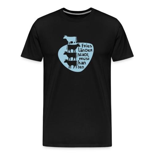 Muhsikanten Vektor - Männer Premium T-Shirt