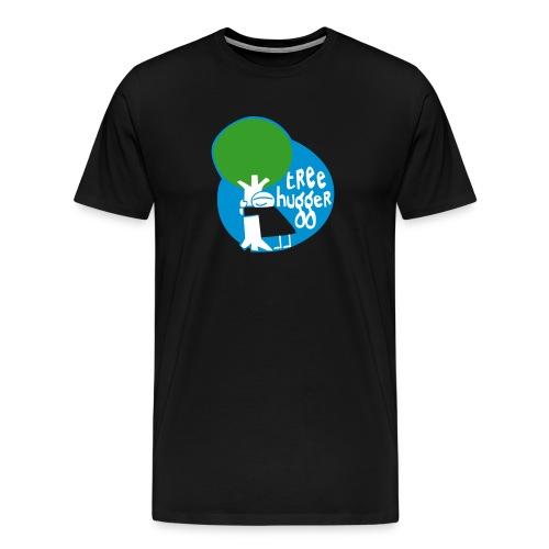 Treehugger Vektor - Männer Premium T-Shirt