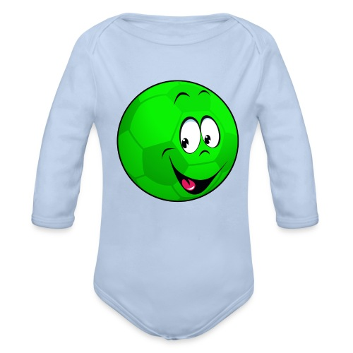 Ballon football enfant - Organic Longsleeve Baby Bodysuit