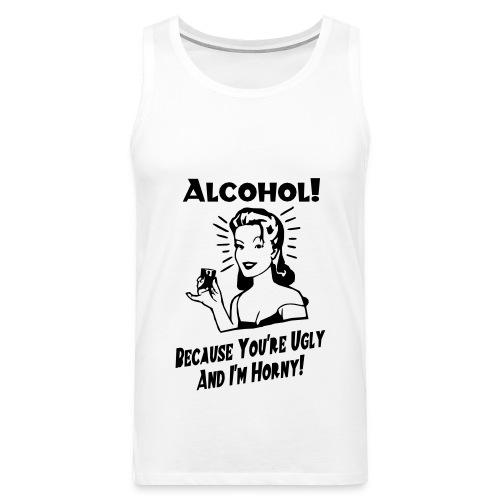 ALCOHOL - Débardeur Premium Homme