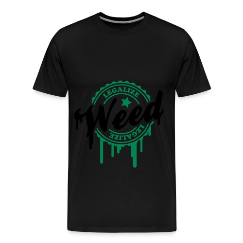 Tee-Shirt Homme : Weed - T-shirt Premium Homme