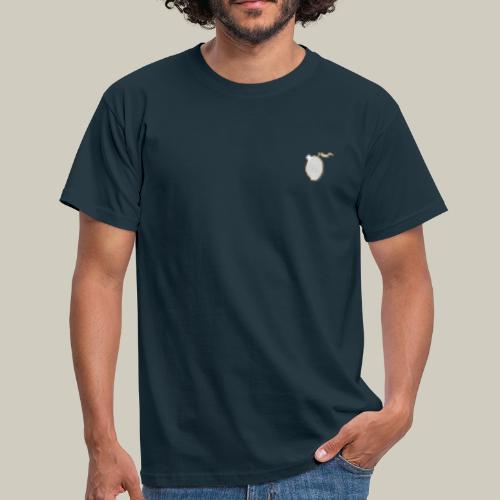Männer T-Shirt mit Glitzer-Mango - Männer T-Shirt