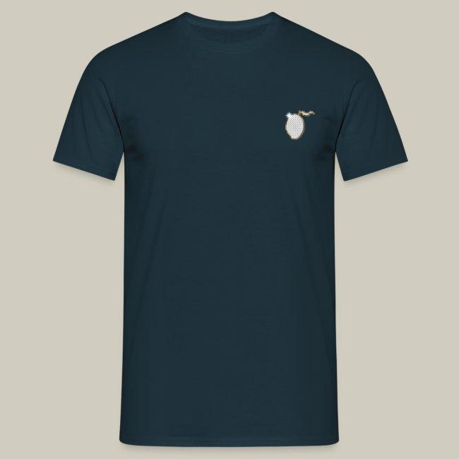 Männer T-Shirt mit Glitzer-Mango