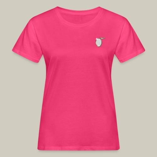 Frauen Bio-T-Shirt mit Glitzer-Mango - Frauen Bio-T-Shirt