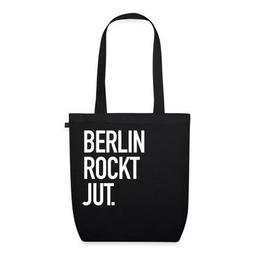Berlin rockt jut. - Bio-Stoffbeutel