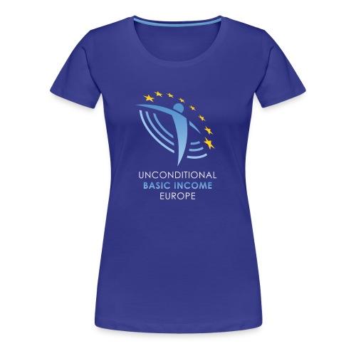 UBIE shirt blue - Vrouwen Premium T-shirt