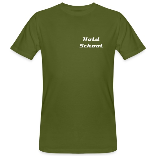 t-shirt bio hold school - T-shirt bio Homme